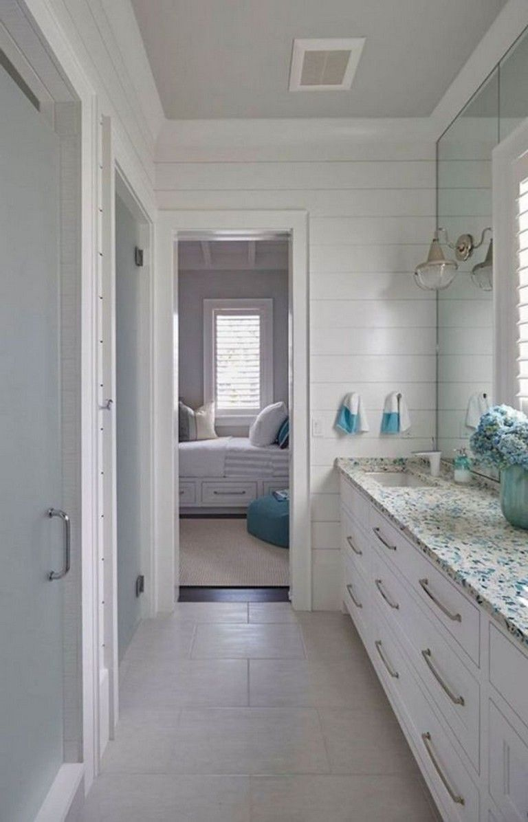 40 Handsome Coastal And Beach Inspired Bathroom Designs Ideas