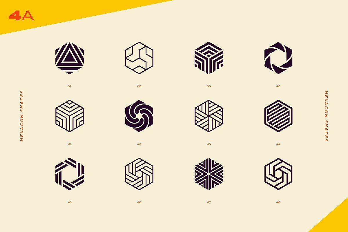 96 Logo Marks Geometric Shapes Abstract Logo Geometric Logo Logo Mark