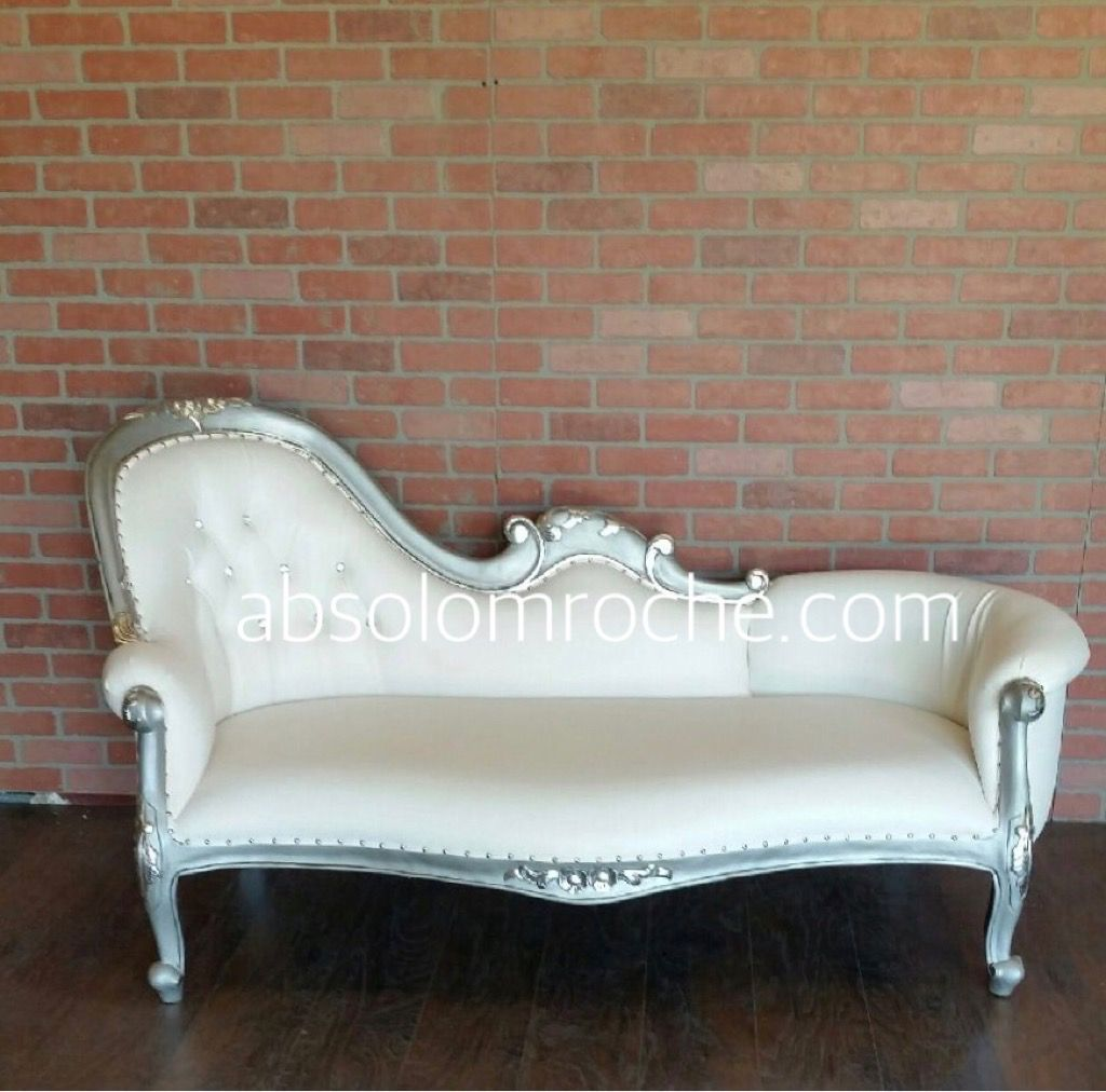 htx bridal show sale 50 off hindu chaise sofa settee goldwhite products pinterest chaise sofa settees and studio furniture