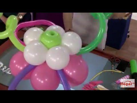 Como hacer un centro de mesa con globos redondos y 260 Balloon
