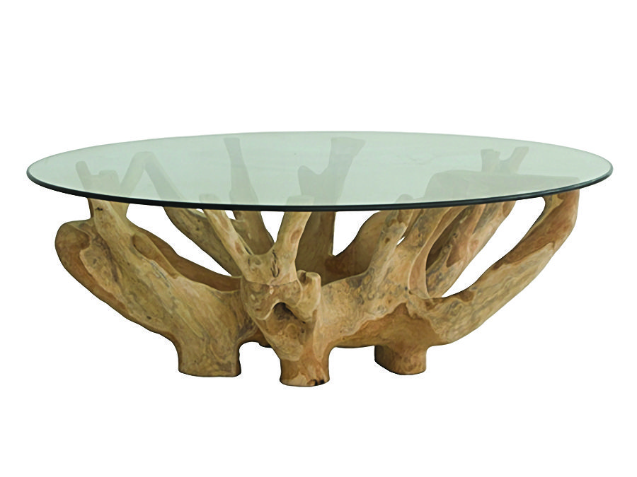 Root Base Coffee Table Modern Tables And Accent