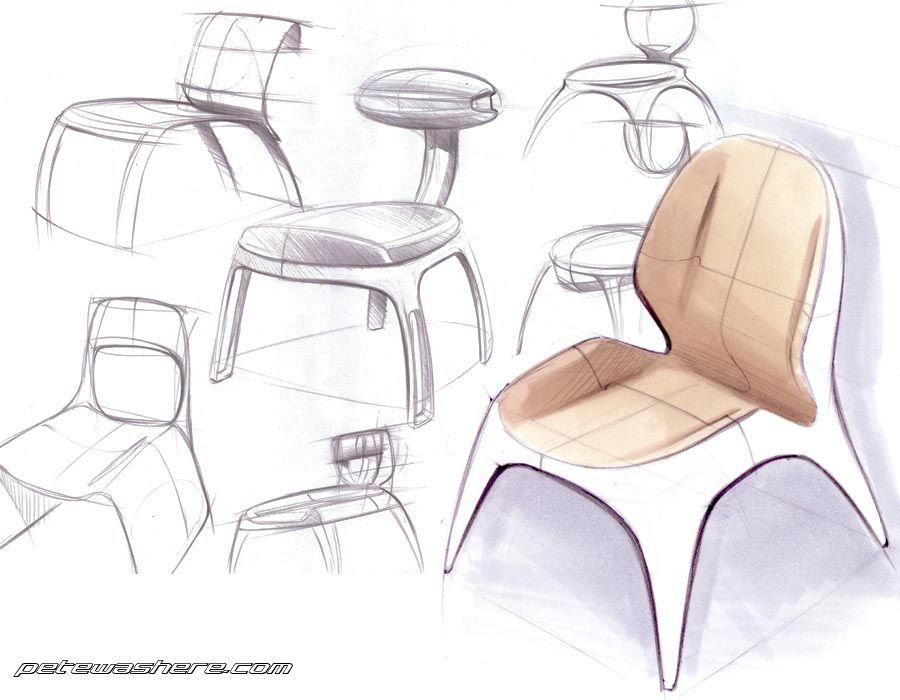 Industrial Design Sketch Petewashere