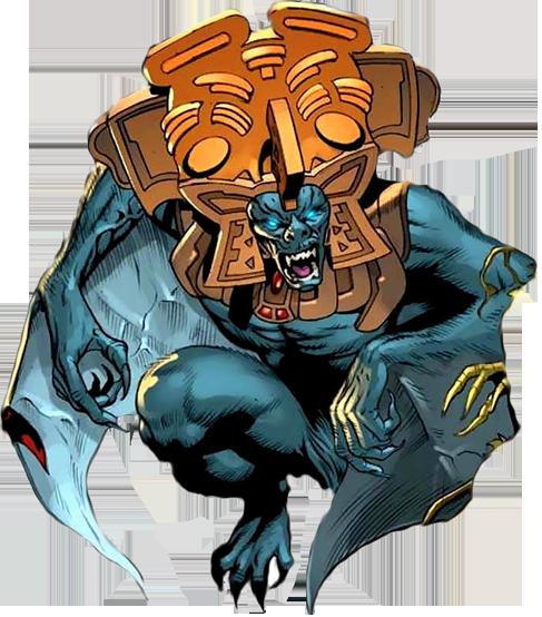 Camazotz Earth 616 Monster Concept Art Aztec Art Mythological Creatures