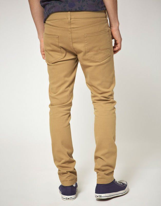 Skinny Khaki Pants For Guys | Skinny Khaki chino pants for men in ...