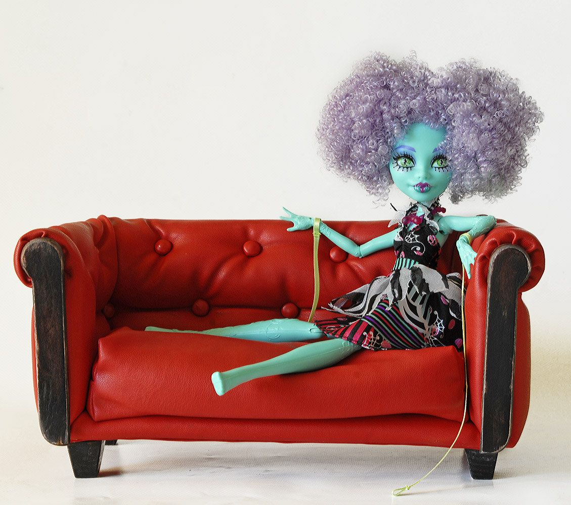 Couch For Doll Sofa Ready Delivery Barbie