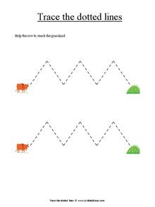 Free Preschool Tracing Lines Printables Used In Post For Tracing