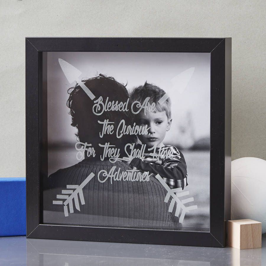 A unique personalised framed photograph of your choice with etched a unique personalised framed photograph of your choice with etched glass detailing a wonderful personalised jeuxipadfo Image collections