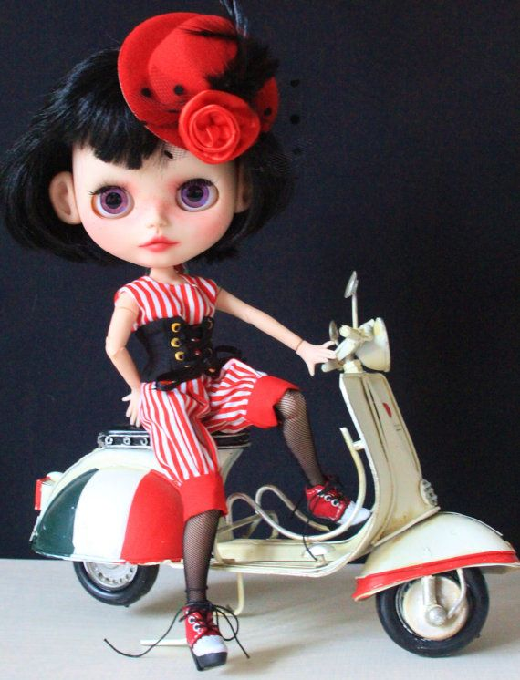 OOAK personalizzato Blythe Doll Flick da Bravura Dolly  LAYAWAY disponibile su richiesta - senza spese aggiuntive per layaway.  La OOAK Art Blythe è