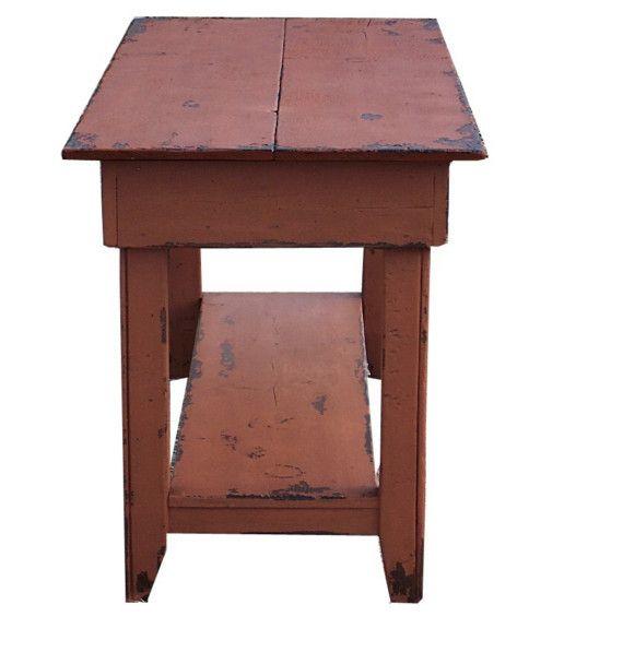 Cool Farmhouse Primitive Entryway Hall Sofa Tv Console Table Machost Co Dining Chair Design Ideas Machostcouk