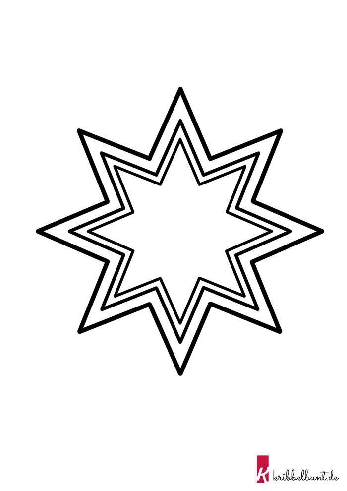 Diese Stern Vorlage Im Pdf Format Und Weitere Kostenlose Bastelvorlagen Zum Ausdrucken Findet Ihr Au Sterne Basteln Vorlage Vorlage Stern Sterne Zum Ausdrucken