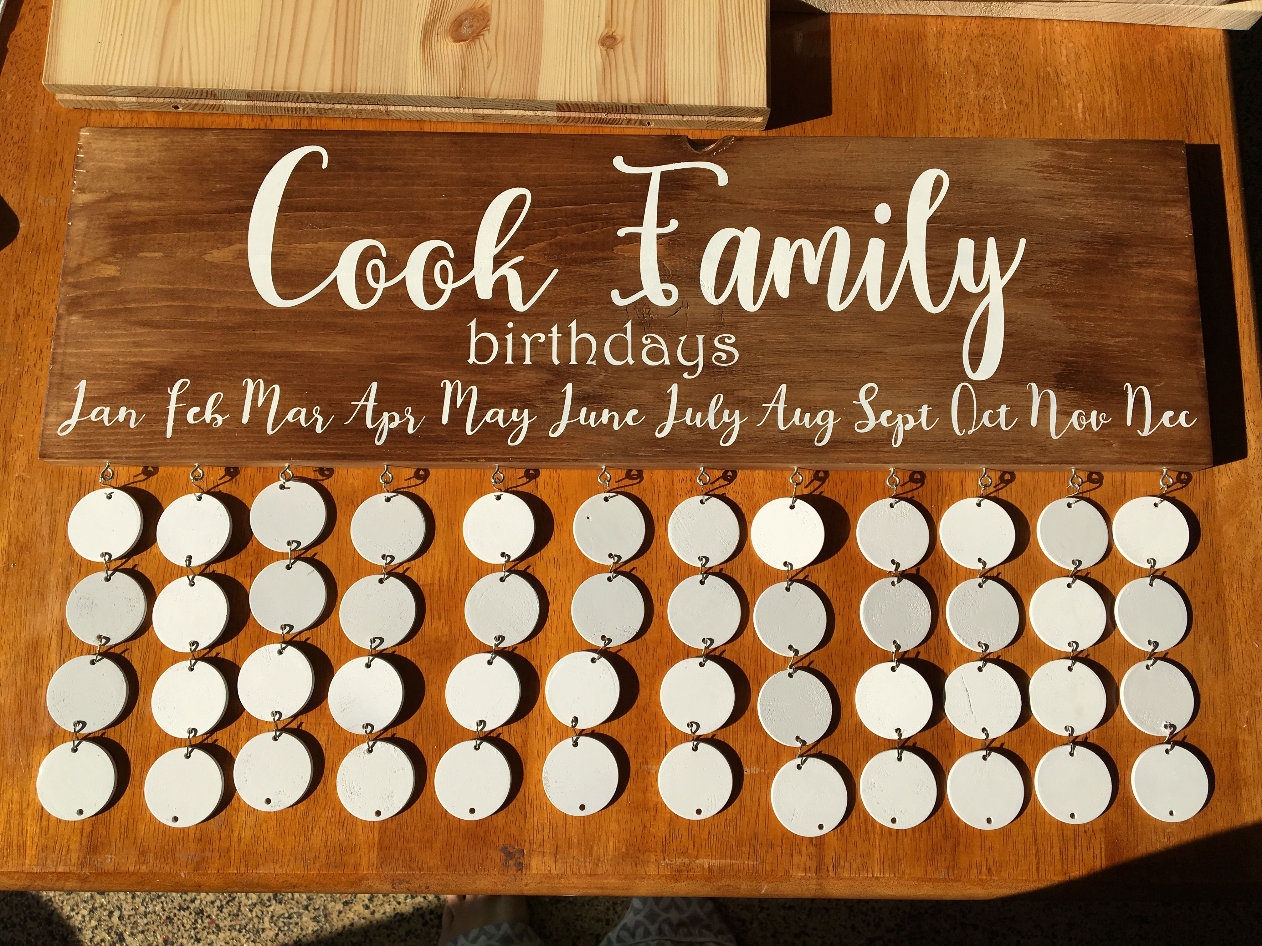 Personalized Family Celebration Calendar Find Simply