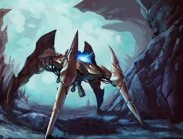 Protoss dragoon