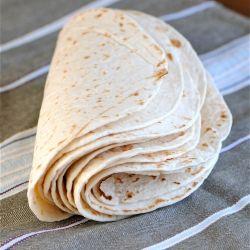 Homemade flour tortillas - you'll never go back to store bought tortillas!