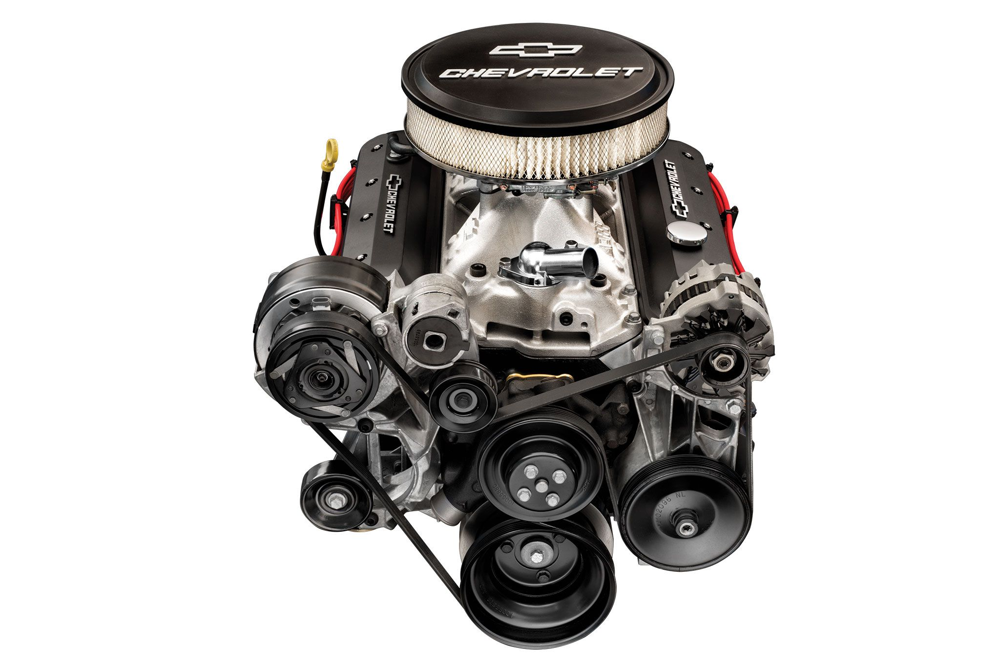 Exclusive First Look The 405hp Zz6 Chevy Crate Engine Hot Rod