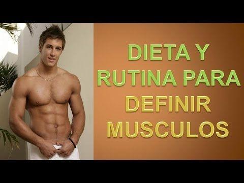 dieta para definir cuerpo hombre