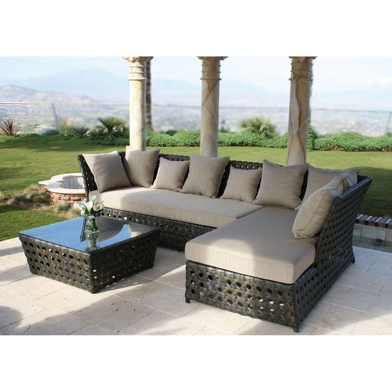 Majestic Garden Conjunto sofás de exterior Tahití El set de exterior ...