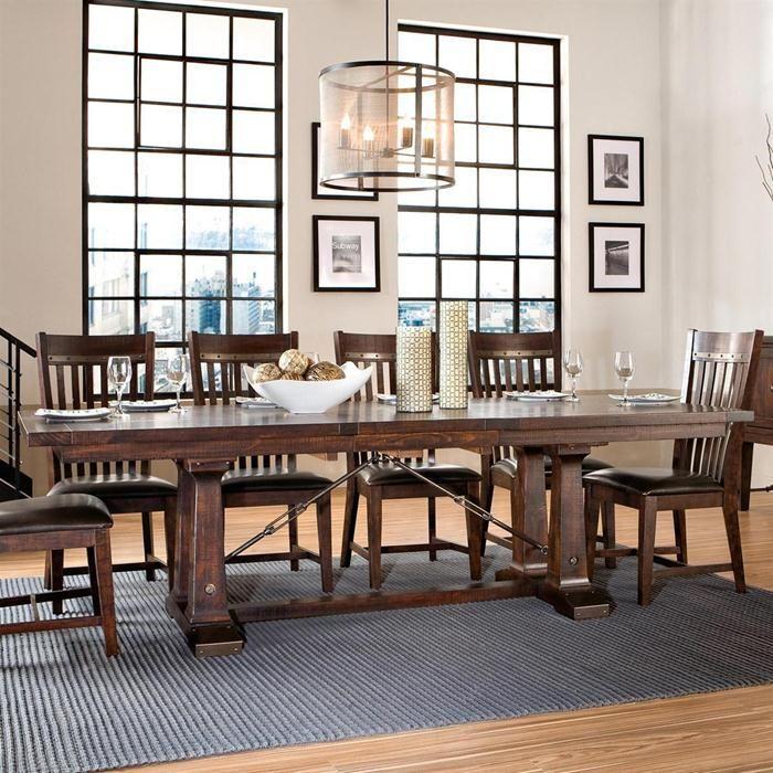 Dining Room Table Slides: Intercon Hayden Trestle Dining