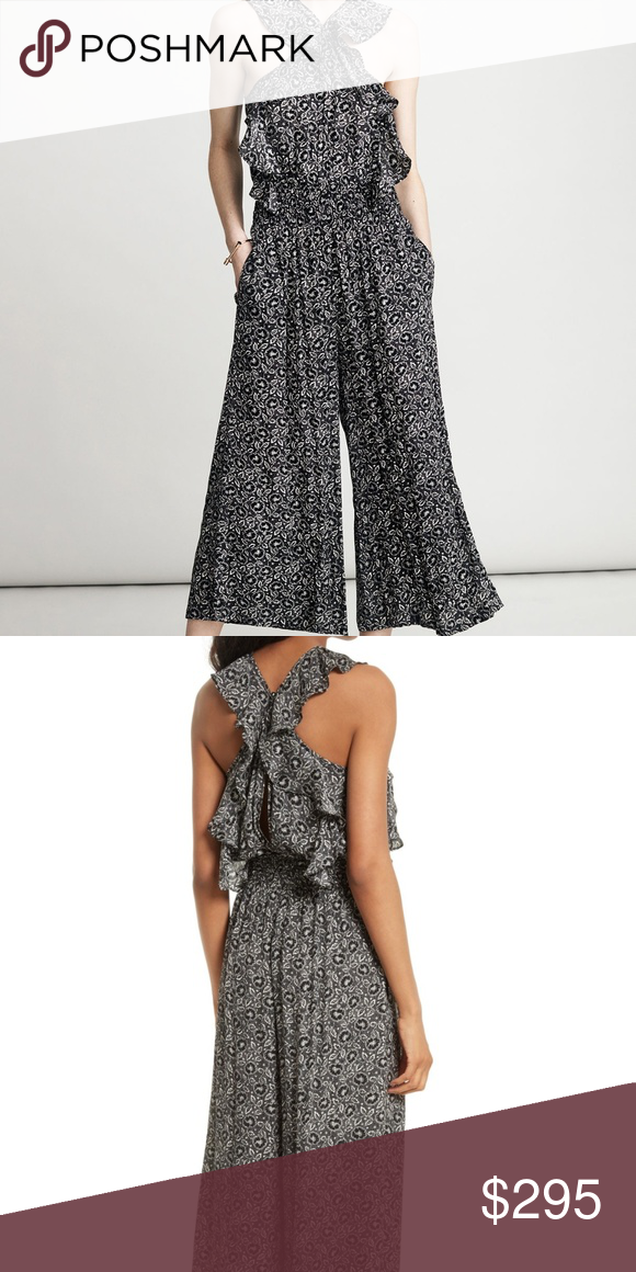 Rebecca Taylor sweet briar floral ruffle jumpsuit Excellent condition. Sold  out everywhere! Only flaw 1cbaf0587