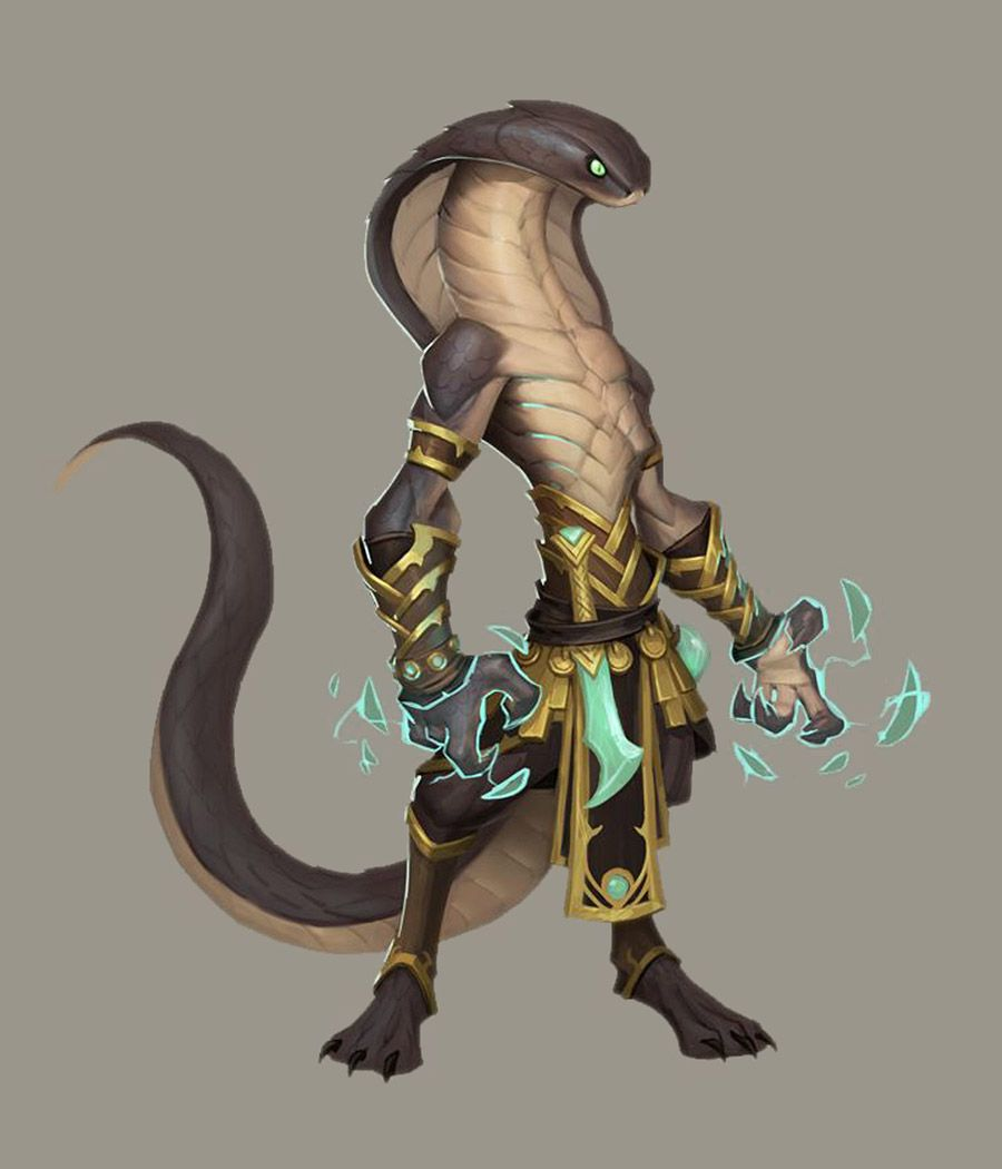 Sethrak Spellcaster Art - World of Warcraft: Battle for Azeroth Art Gallery