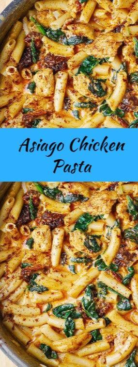 Asiago Chicken Pasta images