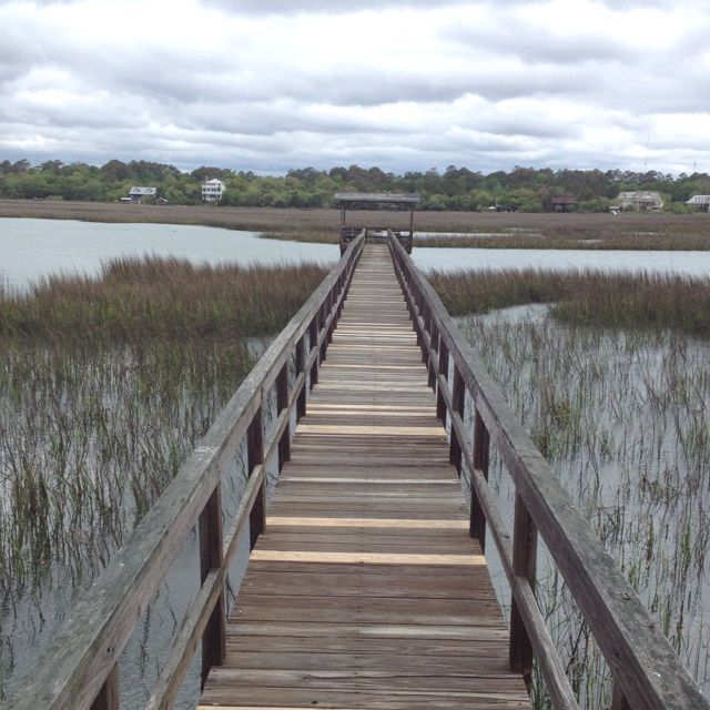 Pawleys Island Beach: Dock Of The Marsh. Pawley's Island, South Carolina. I Long