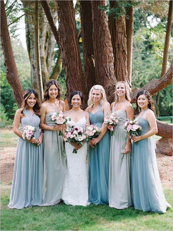 Beautiful Easy Going Wedding Bridesmaid Ideaswedding Bridesmaidswedding Attiremixed