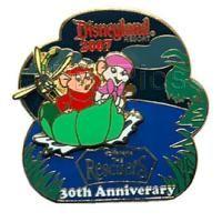 Walt Disney Pins, 30th Anniv. The Rescuers