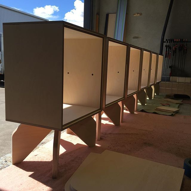 A row of bedsides! We've almost finished the first of our
