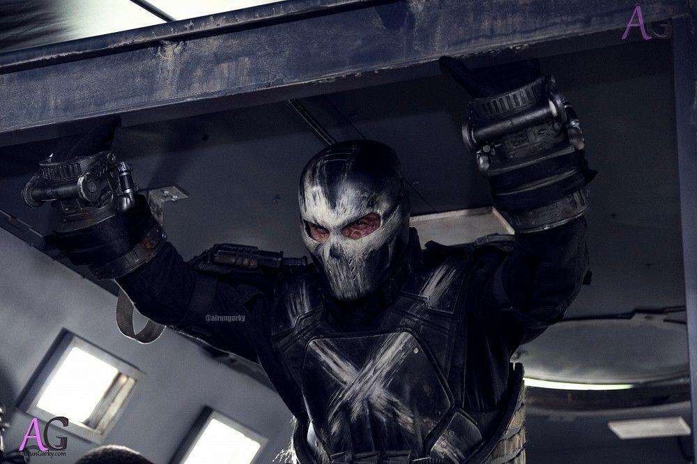 Captain America Civil War Crossbones in action Captain America: Civil War: Huge New Batch of Stills Released