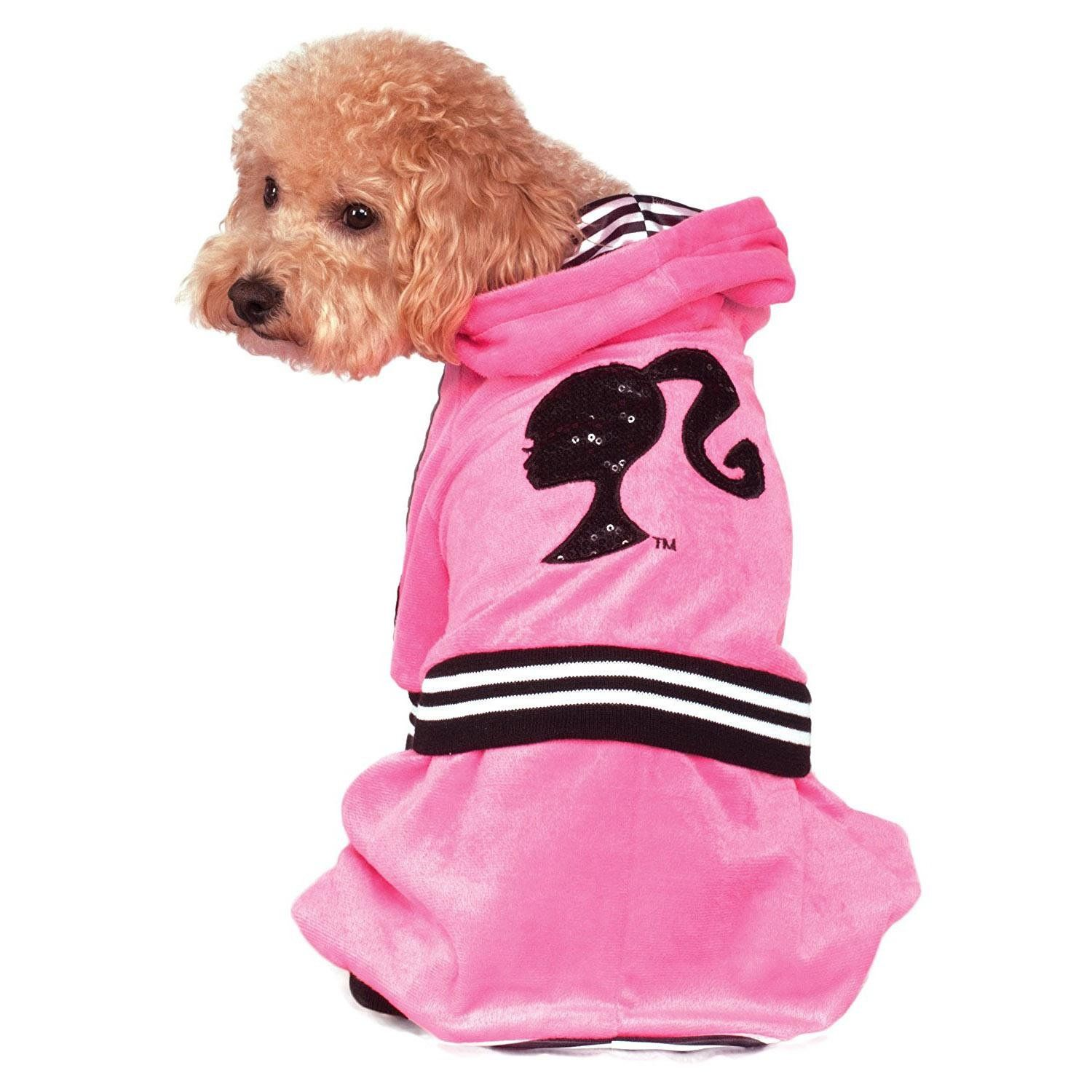 Barbie Girl Velour Tracksuit Dog Pet Costume Medium Free Shipping Ecrater Pet Costumes Barbie Dog Barbie Girl