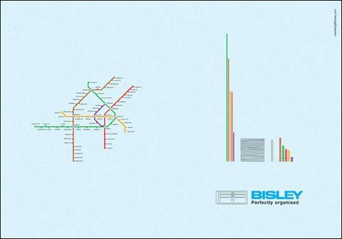 Nice campaign for Bisley, Quality Office Furniture