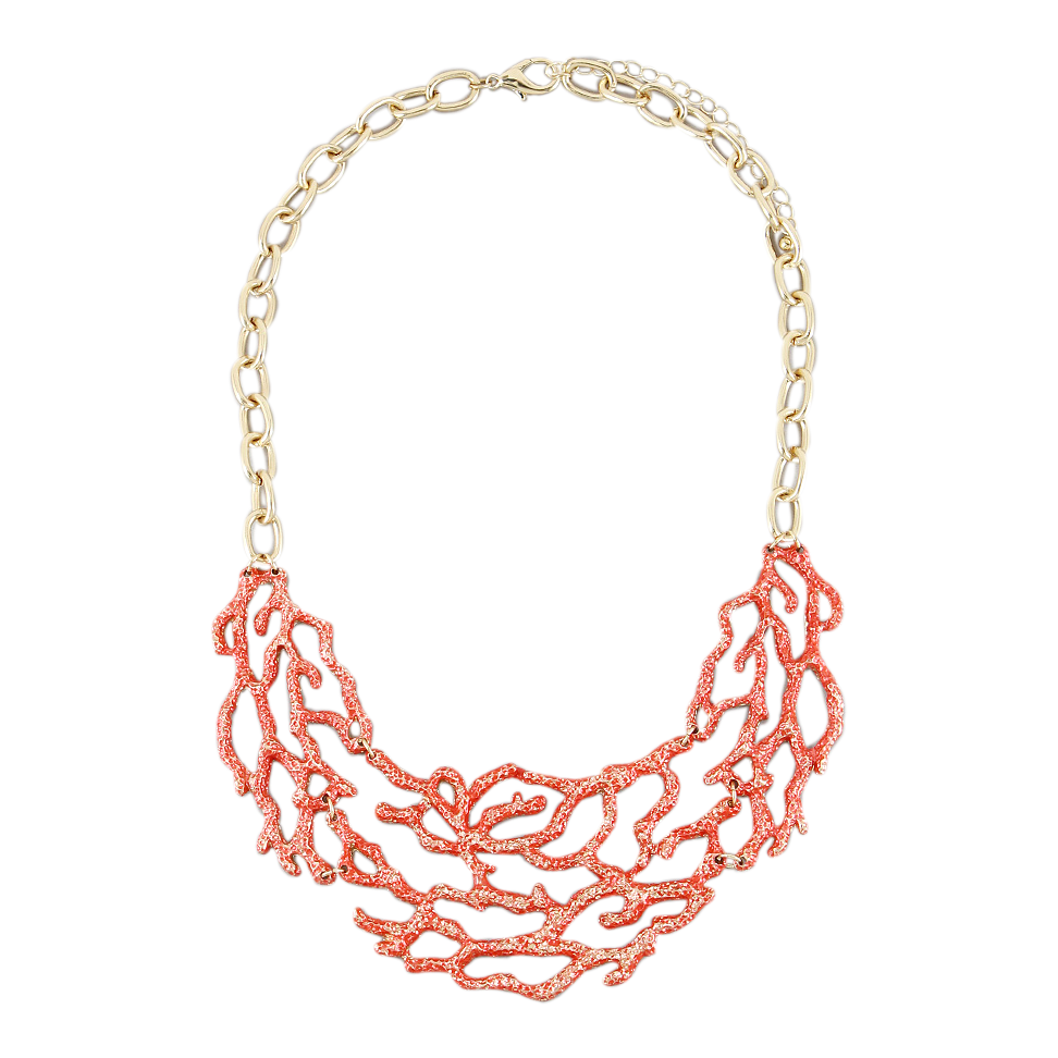 Mariela Coral Necklace