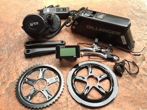 Video Of The Dillenger Bafang Mid Drive Electric Bike Kit Here Is