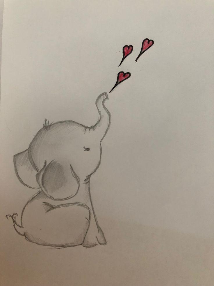 De Liefdessong getrompetterd door dit snoesje=Olifantje***o(o***