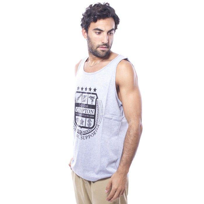 Camiseta City of Tank Gris - Camisetas - Hombre www.ebolet.com #ebolet #camiseta #urbana #street #chico