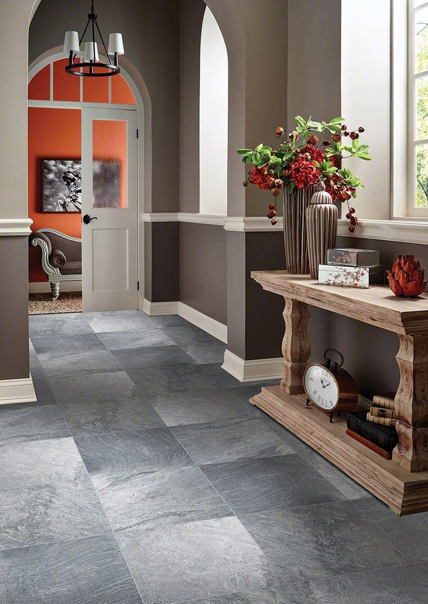 Ostrich grey quartzite kitchen pinterest gray mosaics and veneto gray porcelain tile from msi used on floors showers create a warm bathroom dailygadgetfo Images