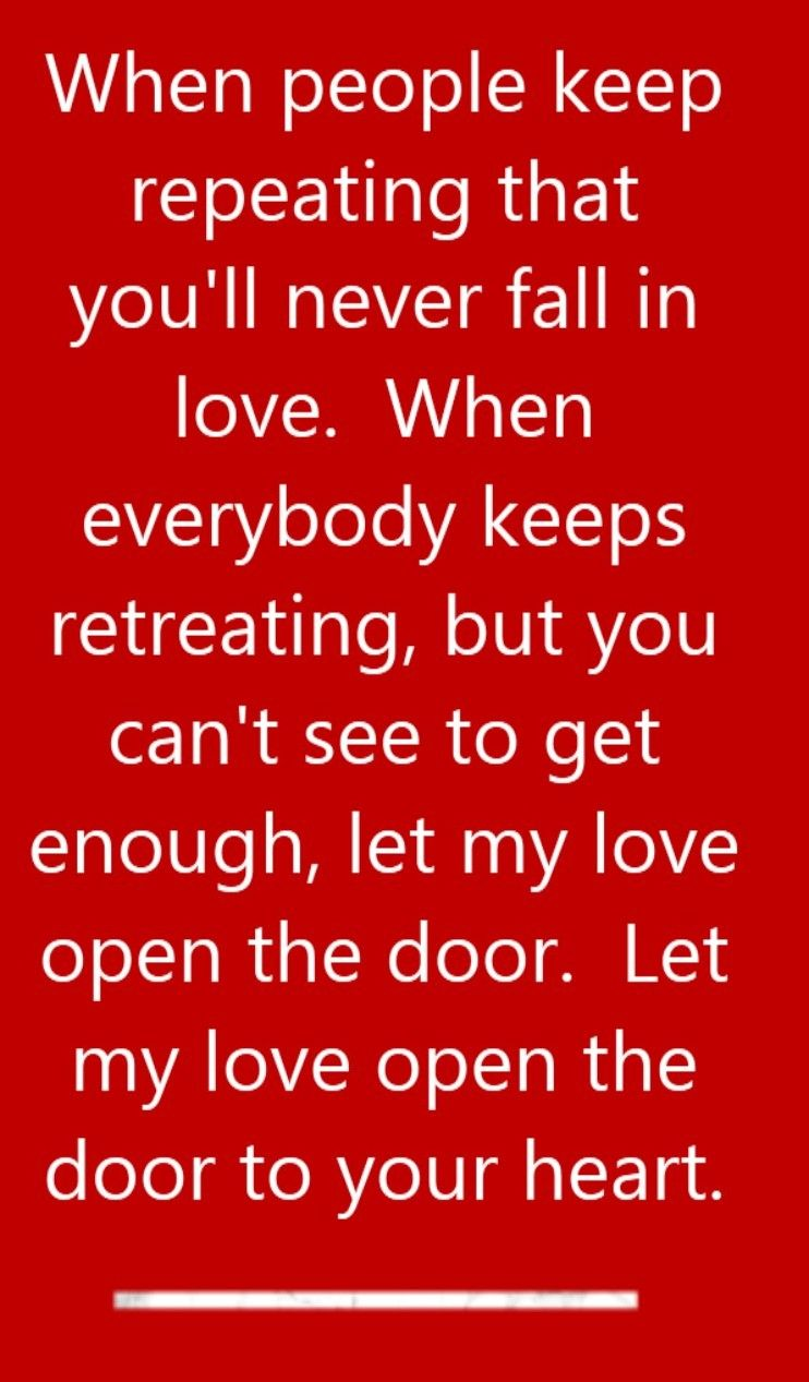 Peter Townsend - Let My Love Open The Door - Song Lyrics Song Quotes Sc 1 St Pinterest  sc 1 st  pezcame.com & Door Songs \u0026 Door Lyrics By Ninja - Sc 1 St Pinterest