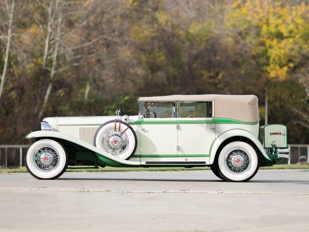 1931 Cord L-29 Convertible Phaeton Sedan - (Auburn Automobile Co ...
