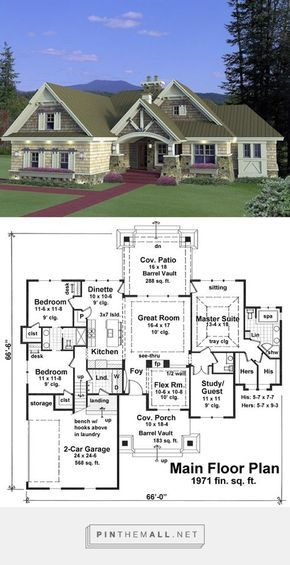 Home Plans Nice Interior And Exterior Home Design With: House Plan 42652 At FamilyHomePlans.com. Nice Rambler Plan