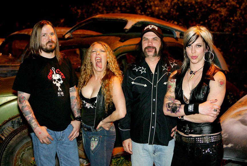 Nashville pussy rock band