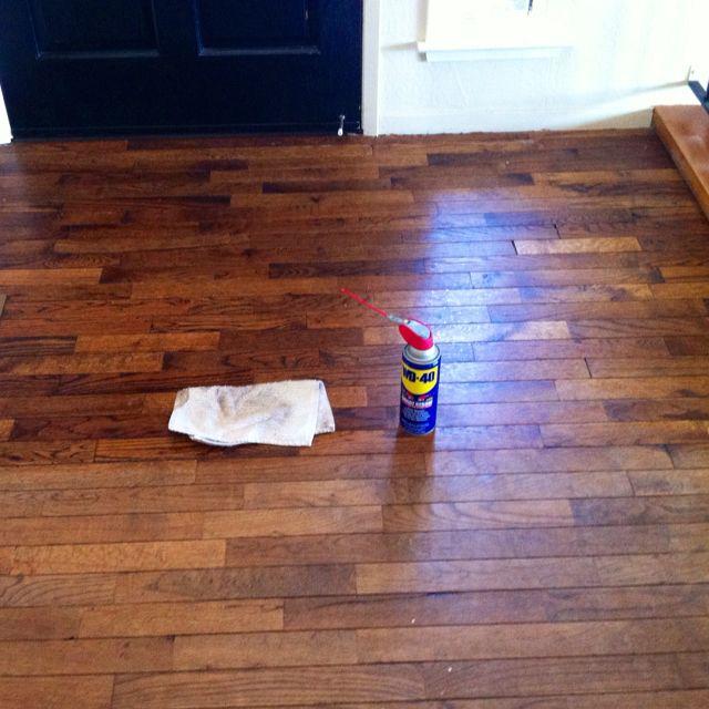 Clean Shower Doors Old Wood Floors, Wd40 On Laminate Flooring