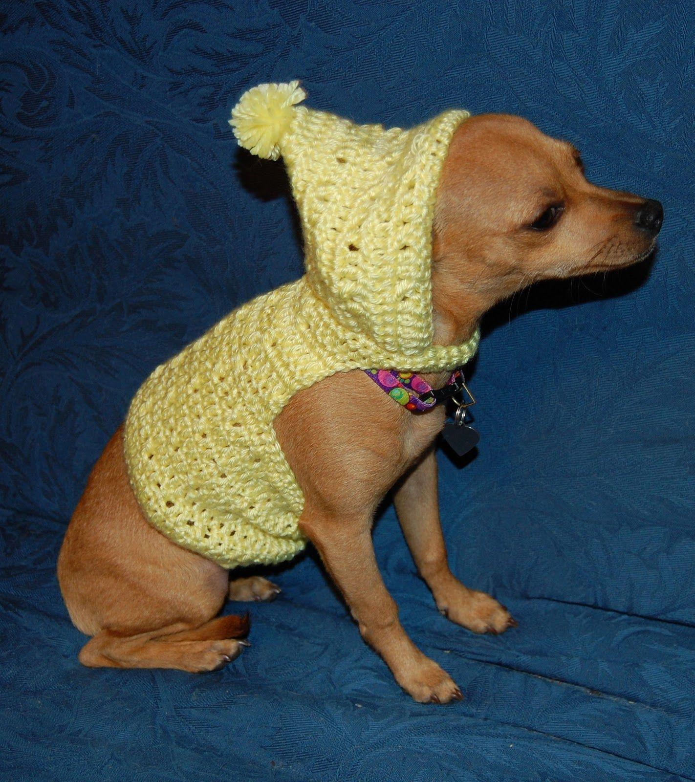 Ropa para perros a crochet ropa tejida para perro