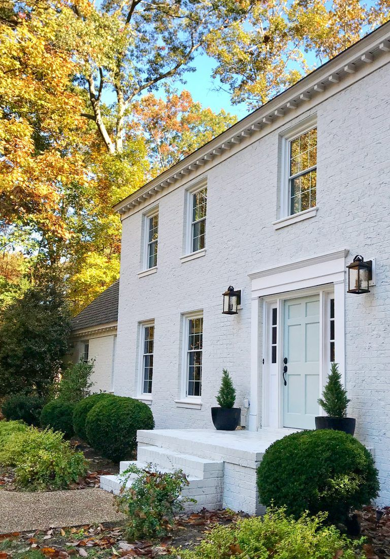 119 What Almost Derailed Our Painted House Makeover White Brick