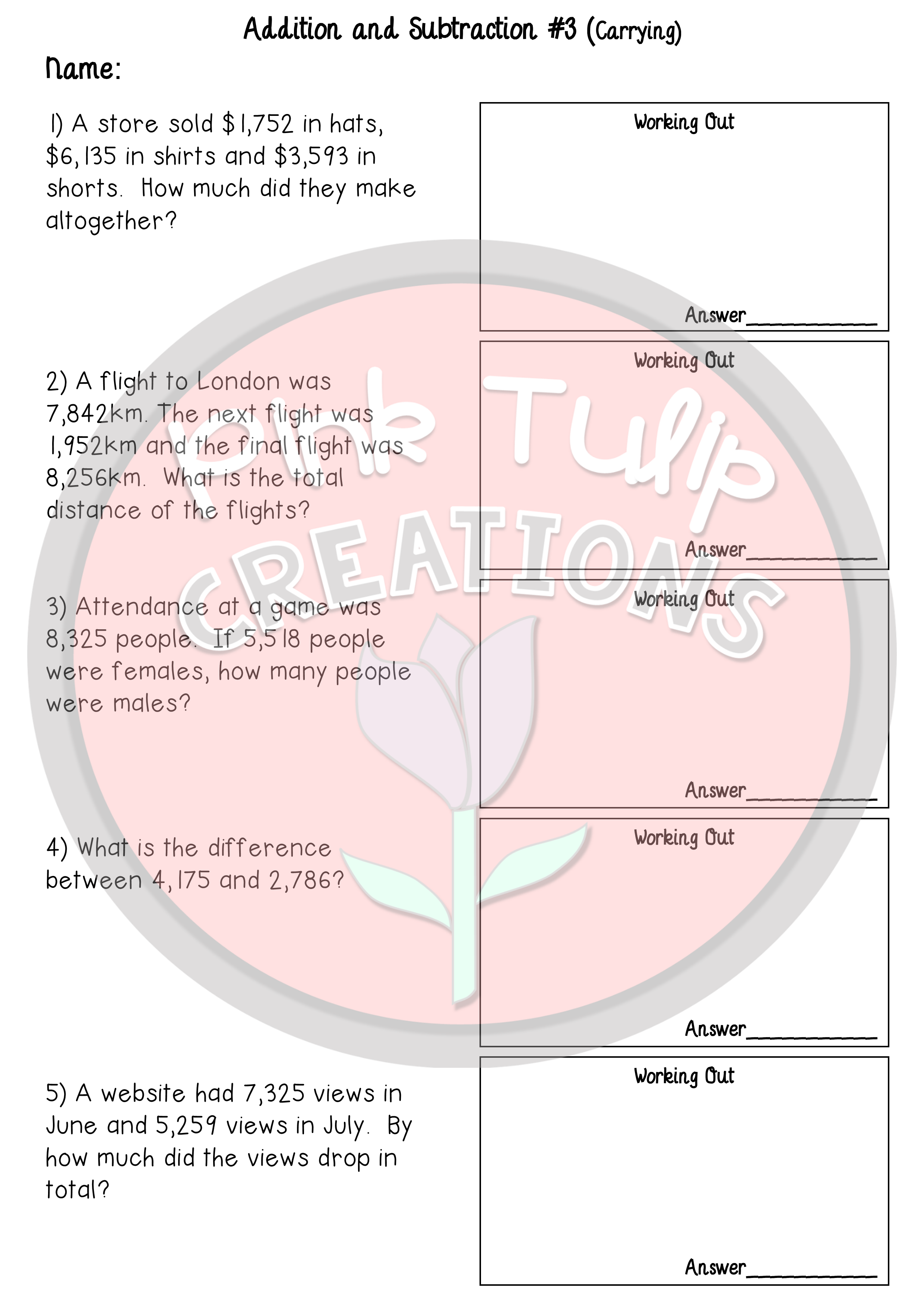 4 Addition And Subtraction Worksheets 4 Multiplication And Division Worksheets Addition And Subtraction Worksheets Time Worksheets Subtraction Worksheets [ 3508 x 2480 Pixel ]