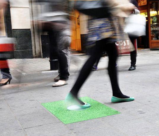Kinetic Energy Generating Pavegen Floor Tiles Will Harvest Footsteps To Light Uk Shopping Center Kinetic Energy Shopping Mall Design Mall Design