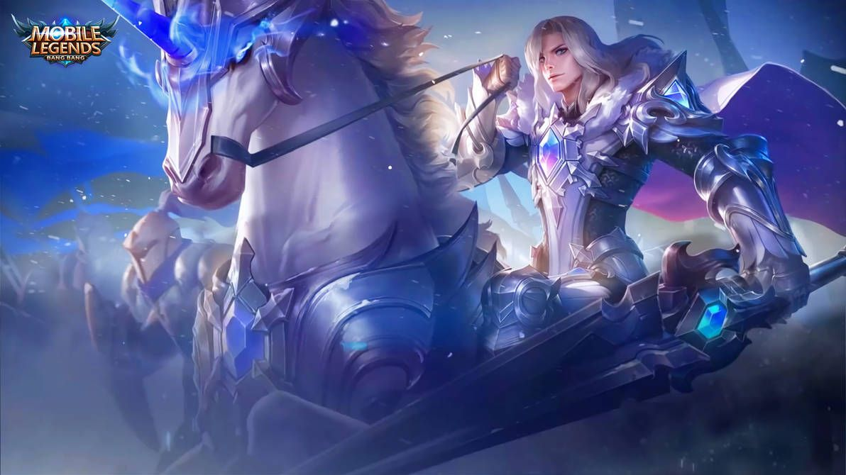 Leomord Frostborn Paladin By Makinig Mobile Legends Mobile Legend Wallpaper Alucard Mobile Legends