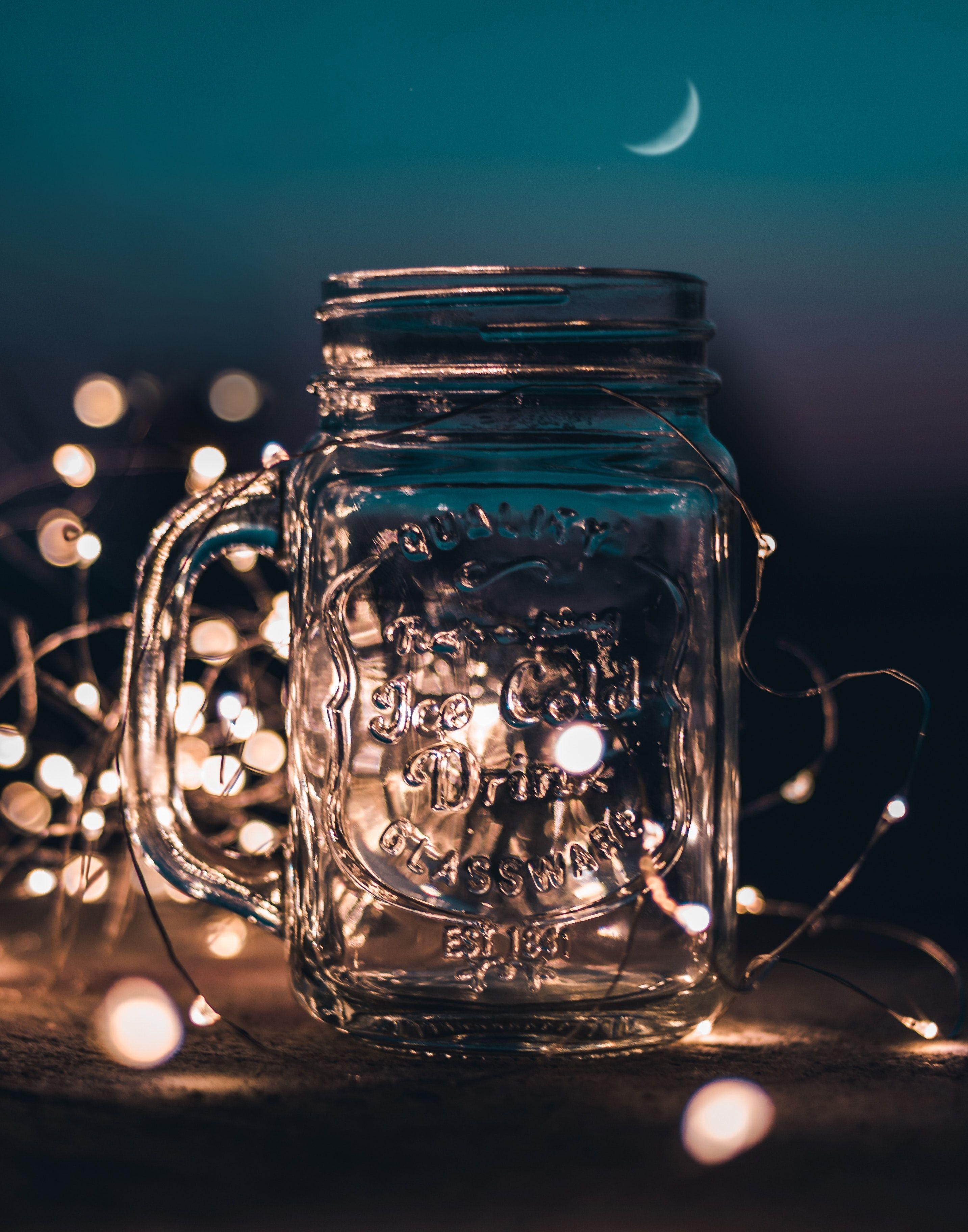 Blue Mood Board Marble Jar Glass Mason Jars Mason Jar Lighting