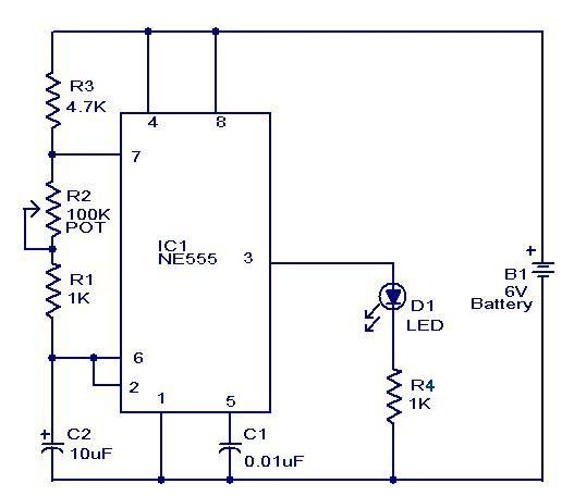 Mini Flasher #Circuit #Electronics Check more at http://blog ...