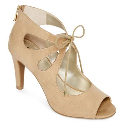 546dc7cdb081 Buy a.n.a® Chance Peep Toe Pumps Shoes today at jcpenney.com. You deserve  great deals and we ve got them at jcp! Web ID  0235279