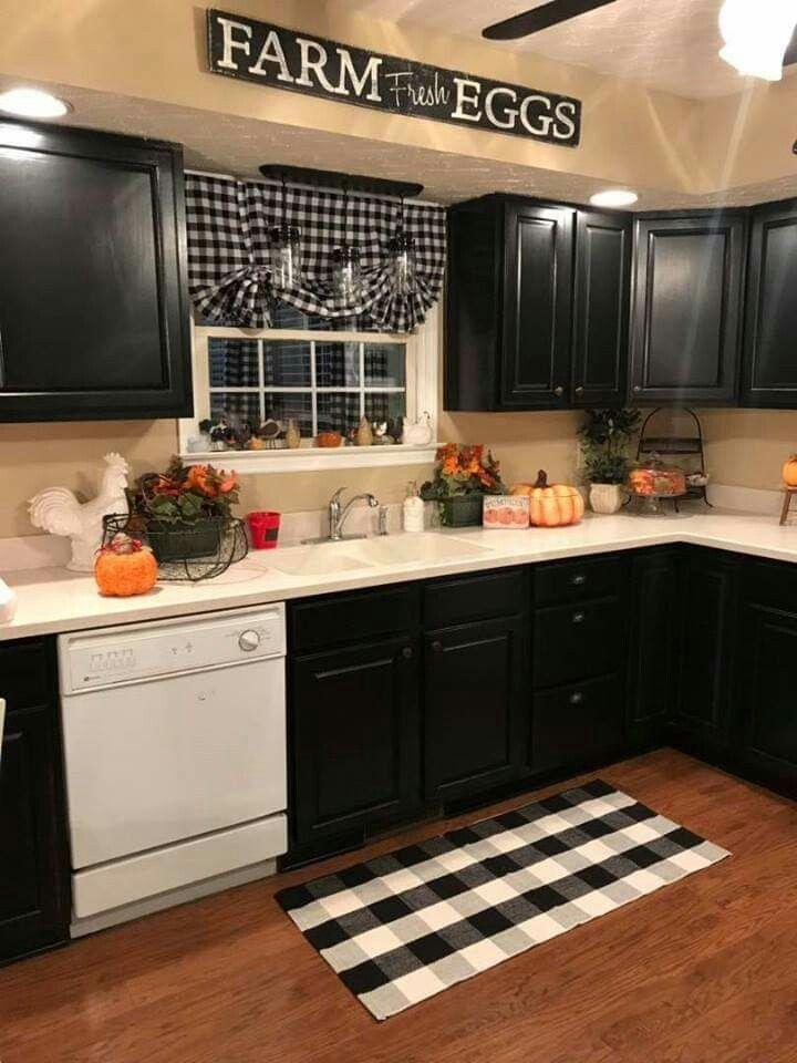22 cozy and chic farmhouse decor kitchen ideas 14 #kitchendecorideas
